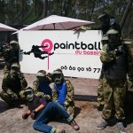 paintball du bassin à gujan enfant